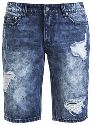 Destroyed Jeans Short