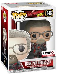 Ant-Man and The Wasp Hank Pym unmasked - Vinyl Figure 346