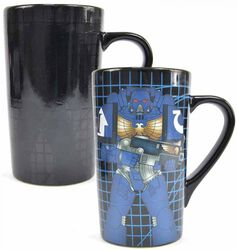 Space Marine Tasse mit Thermoeffekt