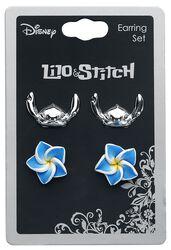 Stitch und Hibiskusblume