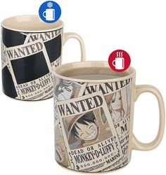Wanted - Tasse mit Thermoeffekt
