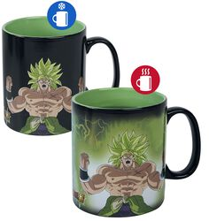 Super Broly - Gogeta & Broly - Tasse mit Thermoeffekt