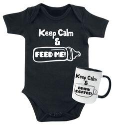 Babybody + Tasse Keep Calm
