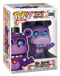 Pizza Sim  - Mr. Hippo Vinyl Figure 368