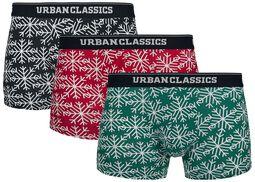 Christmas Norwegian Boxer 3er Pack