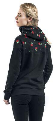 Cherry Bomb Shawl Hoodie