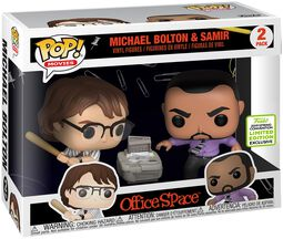 ECCC 2019 - Office Space Michael Bolton und Samir (2 Pack) Vinyl Figure