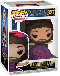 Greatest Showman Bearded Lady Vinyl Figur 827