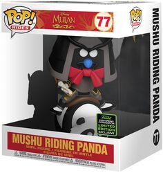 ECCC 2020 - Mushu Riding Panda (POP Rides) Vinyl Figur 77