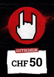 Kauf- und Wertgutschein SFr 50,00