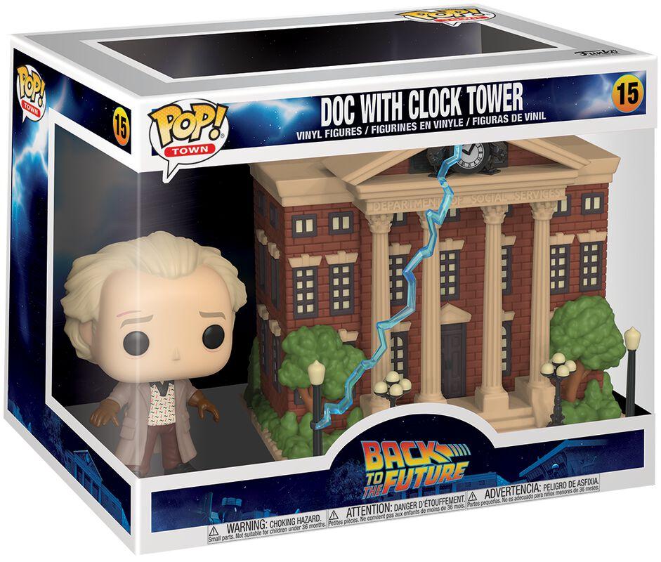 Doc with Clock Tower (Pop! Town) Vinyl Figur 15