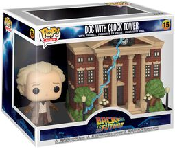 Doc with Clock Tower (Pop! Town) Vinyl Figur 15