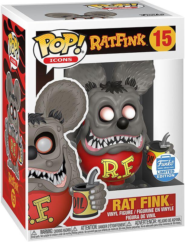 Ad Icons - Rat Fink (Funko Shop Europe) Vinyl Figur 15