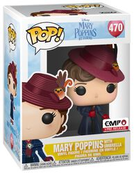 Mary Poppins with Umbrella Vinyl Figure 470