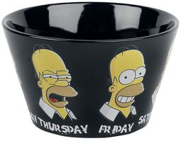 Simpsons Homer's Week Bowl