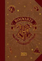 2021 A5 Kalenderbuch - Hogwarts