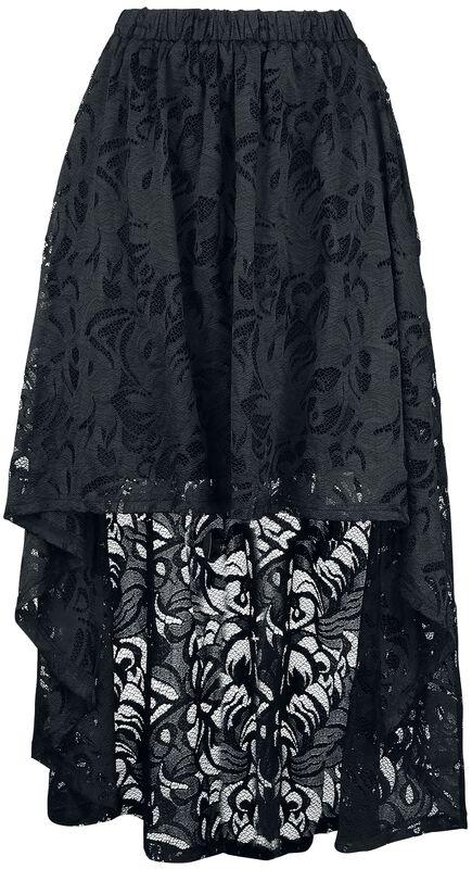 High Low Hem Skirt