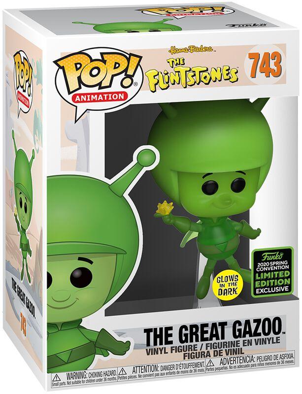 Familie Feuerstein ECCC 2020 - The Great Gazoo (Funko Shop Europe) Vinyl Figure 743