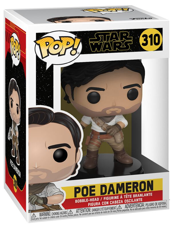 Episode 9 - Der Aufstieg Skywalkers - Poe Dameron Vinyl Figure 310