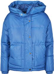 Ladies Oversized Hooded Puffer