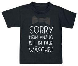 Sorry - Mein Anzug ist in der Wäsche