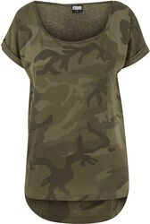 61cb42c55c1418 ... Urban Classics T-Shirt. (84). Ladies Camo Back Shaped Tee