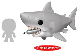 Jaws - Great White Shark with diving Tank (Oversized) Vinyl Figure 759