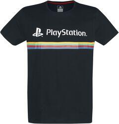 Playstation Logo Color Stripe