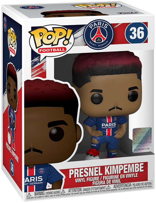 Football Paris Saint-Germain - Presnel Kimpembe Vinyl Figur 36