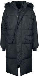 Ladies Oversize Faux Fur Puffer Coat
