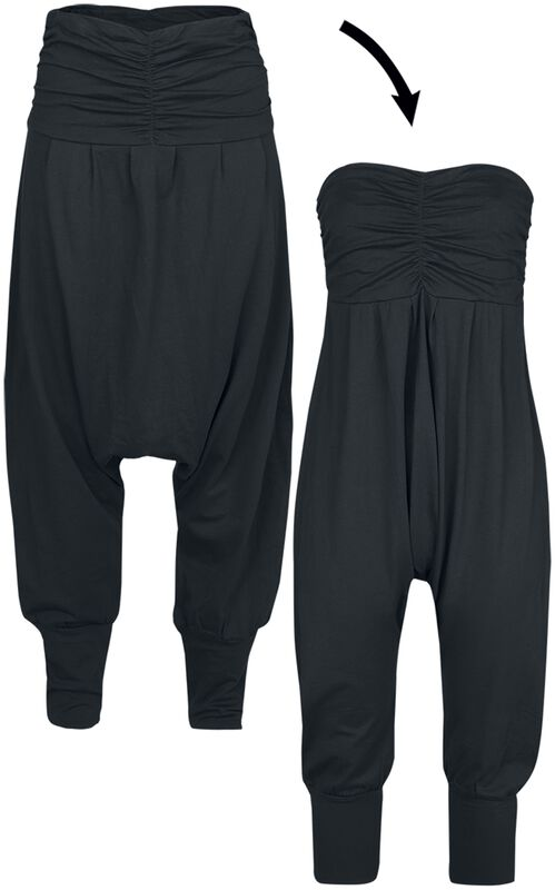 2 in 1: Haremshose und Jumpsuit