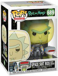 Season 4 - Space Suit Rick With Snake Vinyl Figur 698