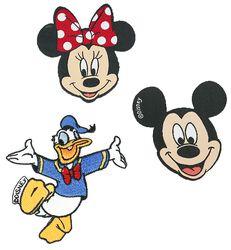 Mickey Mouse & Friends Patch-Set