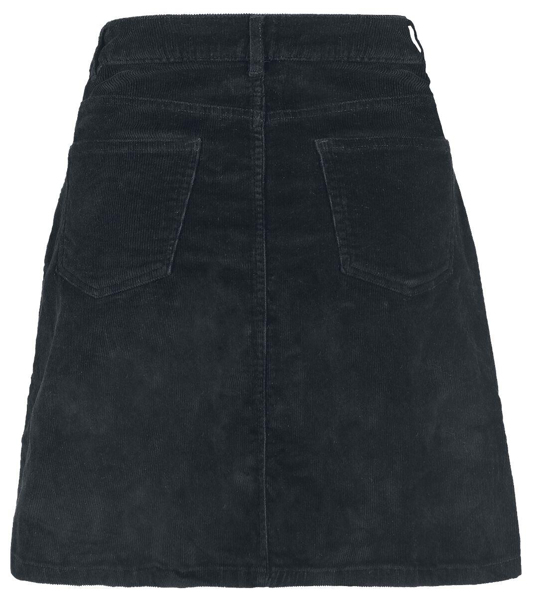 5f19e194810187 Sunny Short Corduroy Skater Skirt | Noisy May Mittellanger Rock | EMP