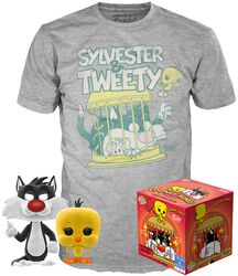 Sylvester & Tweety - T-Shirt plus Funko - POP! & Tee
