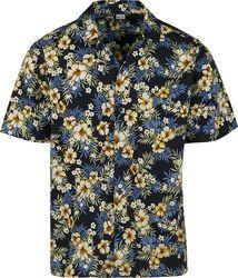 Pattern Resort Shirt Hibiscus