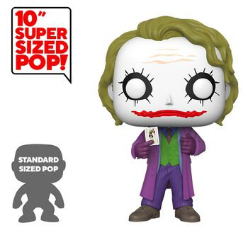 The Dark Knight - The Joker (Life Size) Vinyl Figur 334