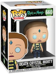 Death Crystal Morty Vinyl Figur 660