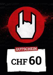 Kauf- und Wertgutschein SFr 60,00