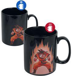 Shenlong und Goku - Tasse mit Thermoeffekt