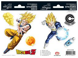 Goku und Vegeta