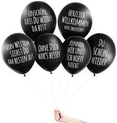 Anti-Ballons - Willkommen