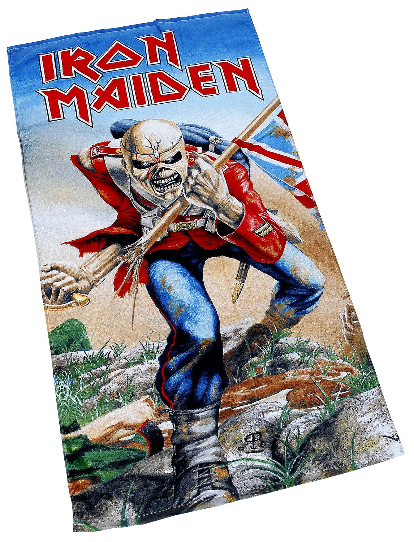 The Trooper Iron Maiden Badetuch Emp