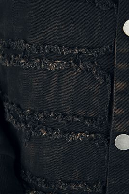 Übergangsjacke mit Used-Look-Details