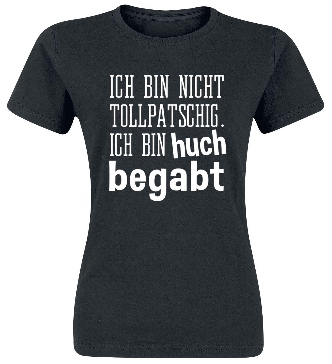 Ich bin nicht tollpatschig. T-Shirt Manches courtes | EMP