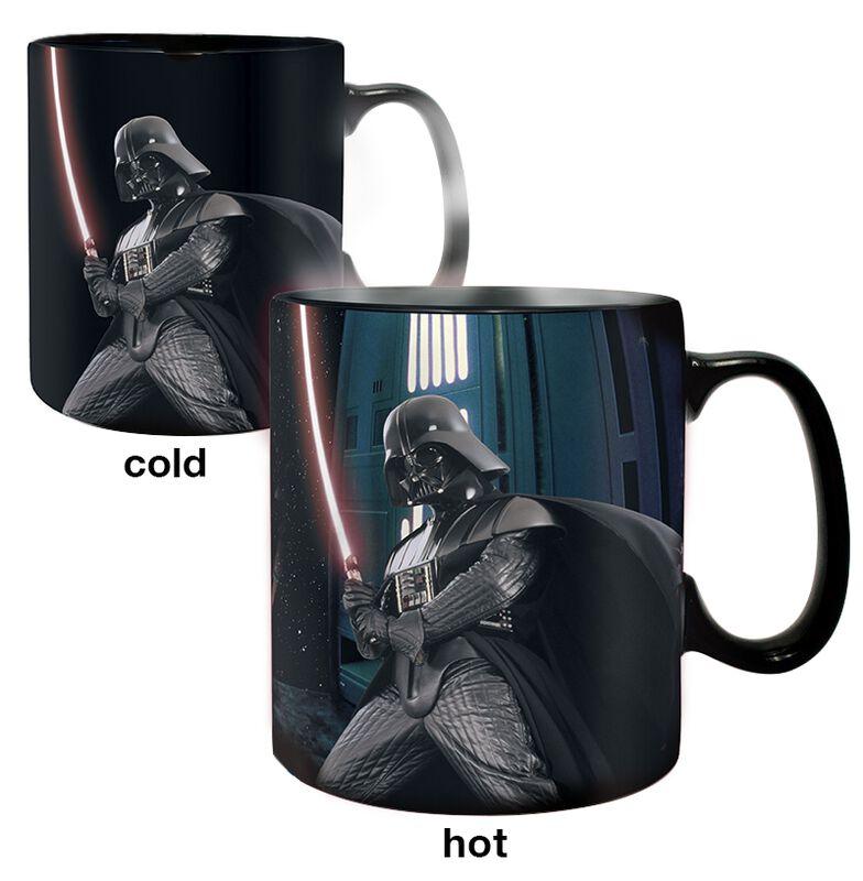 Darth Vader - Tasse mit Thermoeffekt
