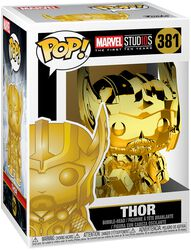 Marvel Studios 10 - Thor (Chrome) Vinyl Figure 381