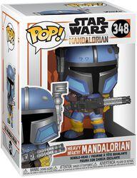 The Mandalorian - Heavy Infantry Mandalorian Vinyl Figur 348
