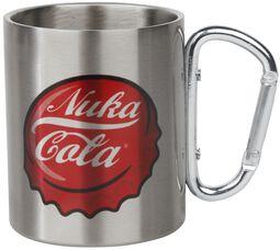 Nuka Cola - Tasse mit Karabinerhaken