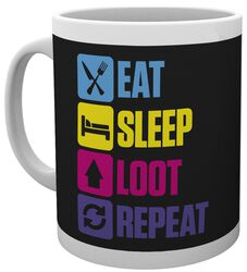 Battle Royale Eat Sleep Loot Repeat